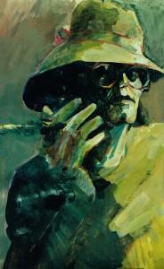 Zelfportret met hoed (Selfportrait with hat)