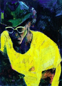 Zelfportret met hoed 2 (Self portrit with hat 2)